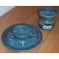 Burning Dish and Oil Burner Set